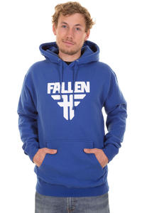 Fallen Insignia Hoodie (royal blue white)