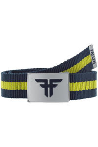 Fallen Trademark Nylon Gürtel (midnight blue fluro yellow)