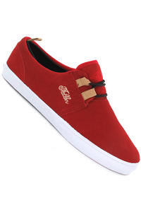 Fallen Capitol Schuh (blood red khaki)