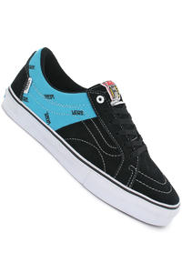 Vans AV Native American Low Suede Schuh (black cyan)