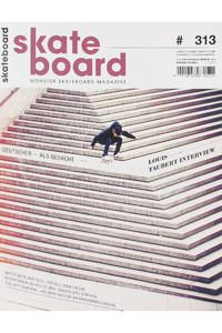 Skateboard MSM Monster Skateboard Magazin #313 2012
