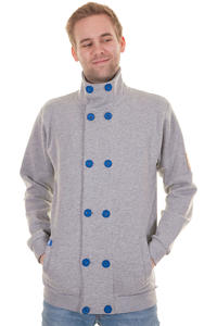 Record Frontmann Jacke (grey heather)