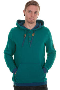 Record Stepper Hoodie (dark teal)