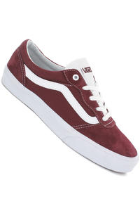 Vans Milton Suede Schuh (oxblood white)