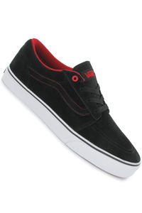 Vans Collins Suede Schuh (black white red)