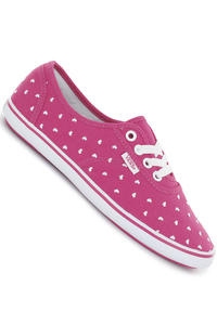 Vans Cedar Shoe girls (heart very berry white)
