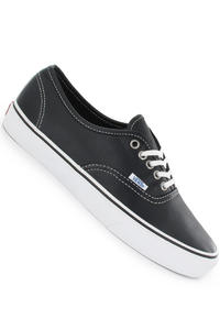 Vans Authentic Leather Schuh (aged black)