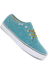Vans 106 Vulcanized Shoe (tile blue true white)