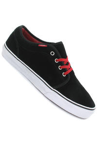 Vans 106 Vulcanized Suede Schuh (black red)