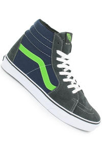 Vans Sk8-Hi Shoe (dark shadow green flash)