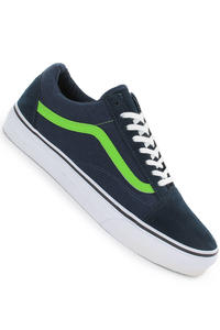 Vans Old Skool Shoe (dress blues green flash)