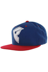 Famous Official Boh Snapback Cap (royal red white)