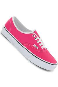 Vans Authentic Leather Schuh girls (neon pink)