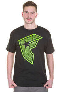 Famous Blast Boh T-Shirt (black lime)