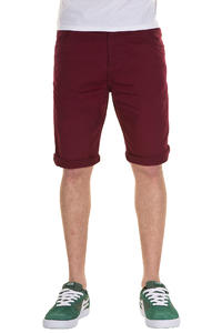 Carhartt Slim Bermuda Alabama Shorts (cranberry rinsed)