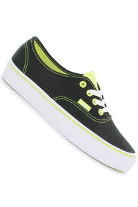 Vans Authentic Shoe girls (neon pop black neon yellow)