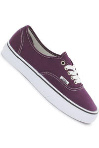Vans Authentic Shoe girls (blackberry wine true white)