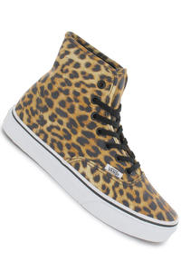 Vans Authentic Hi Schuh girls (leopard black true white)
