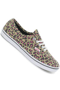 Vans Authentic Lo Pro Schuh girls (leopard khaki hot pink)