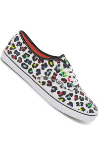 Vans Authentic Lo Pro Shoe girls (neon leopard true white)