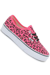 Vans Authentic Shoe girls (neon leopard pink black)