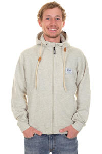 Trap Skateboards Basic Zip-Hoodie (light heather grey)