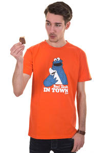 Trap Skateboards Best Taste T-Shirt (orange)