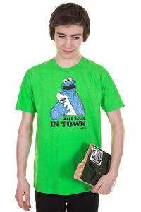 Trap Skateboards Best Taste T-Shirt (flash green)
