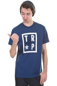 Trap Skateboards Square T-Shirt T-Shirt (navy)