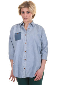 Trap Skateboards Button Shirt girls (denim)