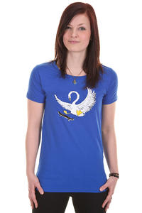 Trap Skateboards Schwan T-Shirt girls (royal blue)