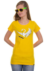 Trap Skateboards Schwan T-Shirt girls (lemon)