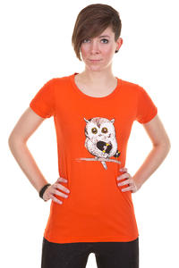 Trap Skateboards Eule T-Shirt girls (orange)