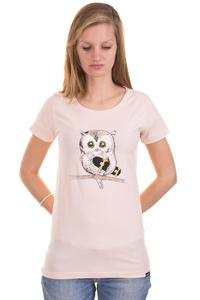 Trap Skateboards Eule T-Shirt girls (creme)