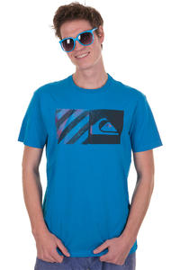 Quiksilver Striped T-Shirt (pacific)