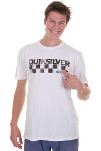Quiksilver Checkers T-Shirt (white)