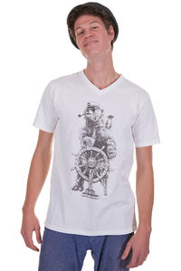Quiksilver Shipmates T-Shirt (white)