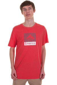 Emerica Combo 10 T-Shirt (red heather)