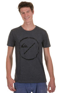 Quiksilver Bottle Base T-Shirt (dark grey heather)