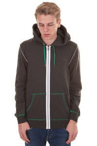 Quiksilver Lighten Zip-Hoodie (dark grey)