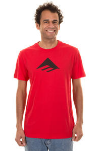 Emerica Triangle 7.0 T-Shirt (red black)