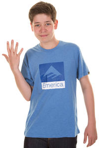Emerica Combo T-Shirt kids (blue heather)