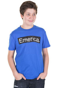 Emerica Pure Sticker T-Shirt kids (blue)