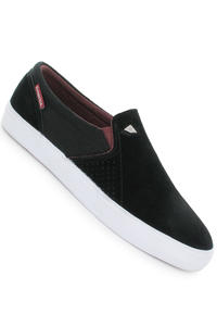 Emerica Memphis Suede Schuh (black white burgundy)