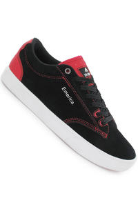 Emerica The Flick Suede Shoe (black red)
