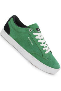 Emerica The Flick Suede Shoe (green black white)
