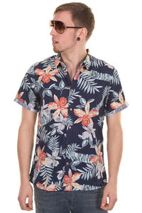 Quiksilver Lagoon Road Shirt (navy hawaiian print)