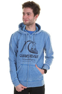 Quiksilver Heritage Mark Zip-Hoodie (pacific)