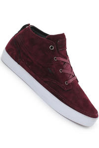 Emerica Troubadour Shoe (maroon black white)