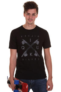 Quiksilver Crown Organic T-Shirt (black)